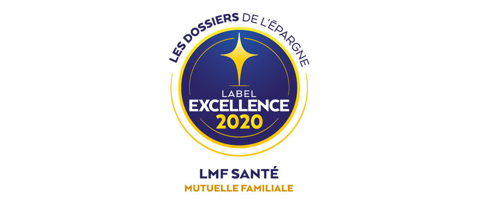 La Gamme LMF santé remporte le Label d'Excellence 2020